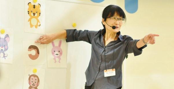 高橋ひとみ教授の写真