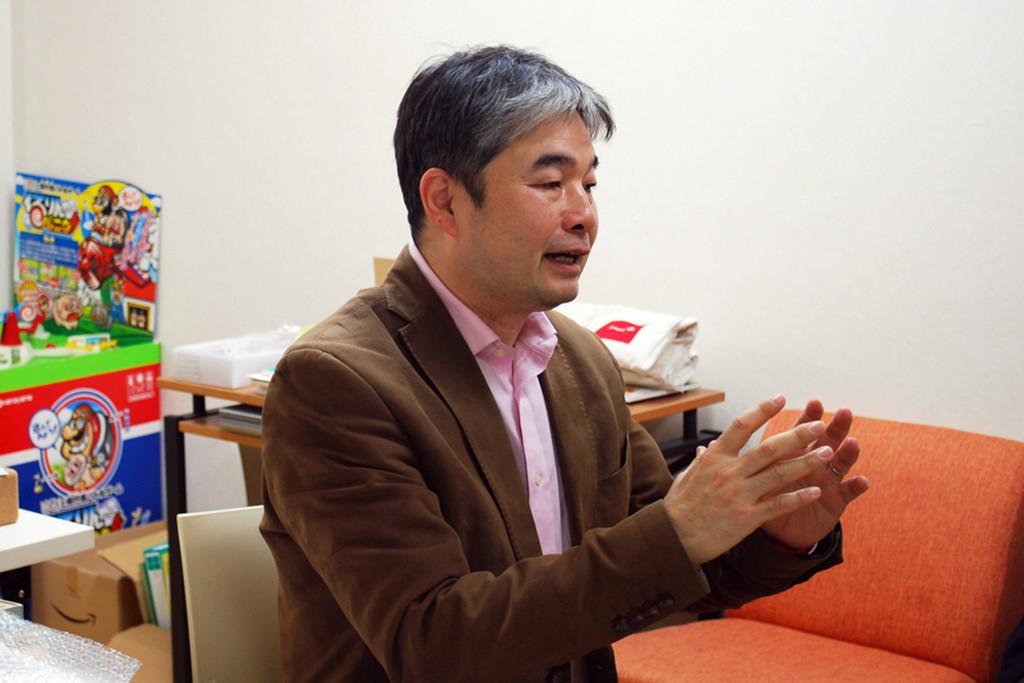 北出勝也先生インタビュー時の写真