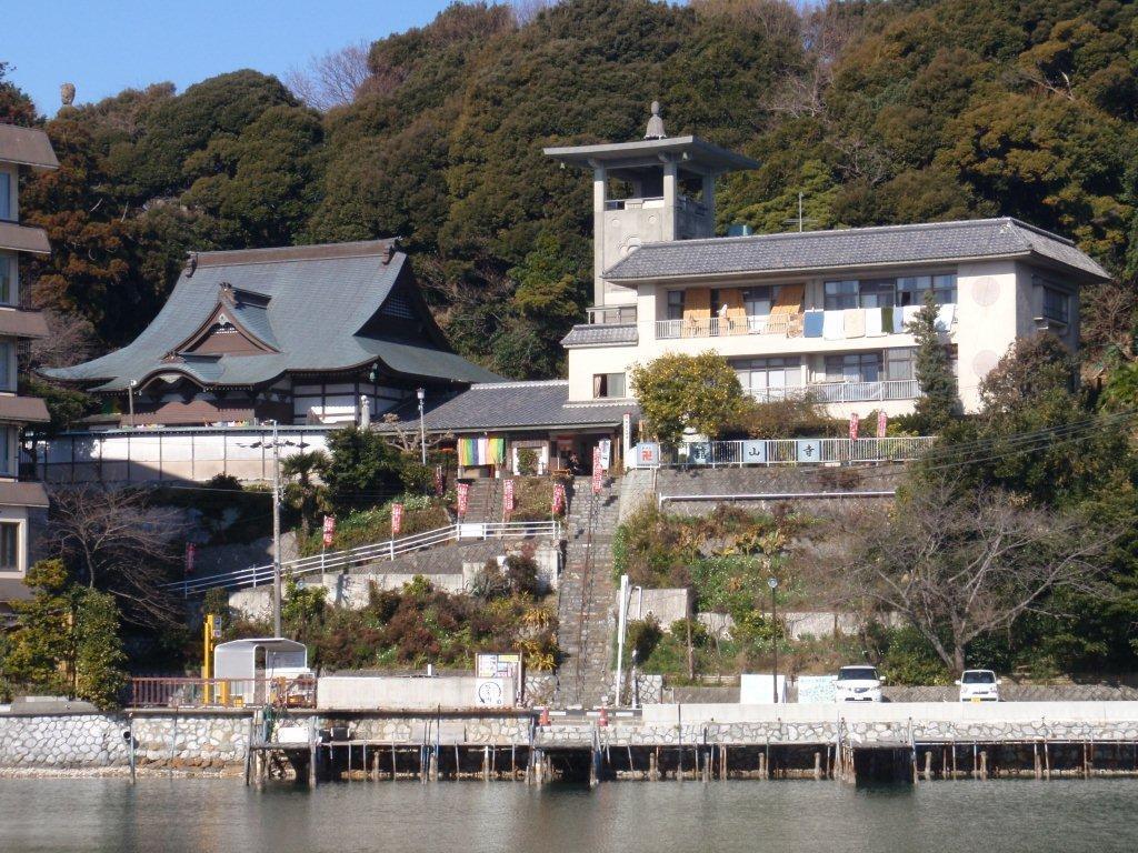 舘山寺と浜名湖の写真