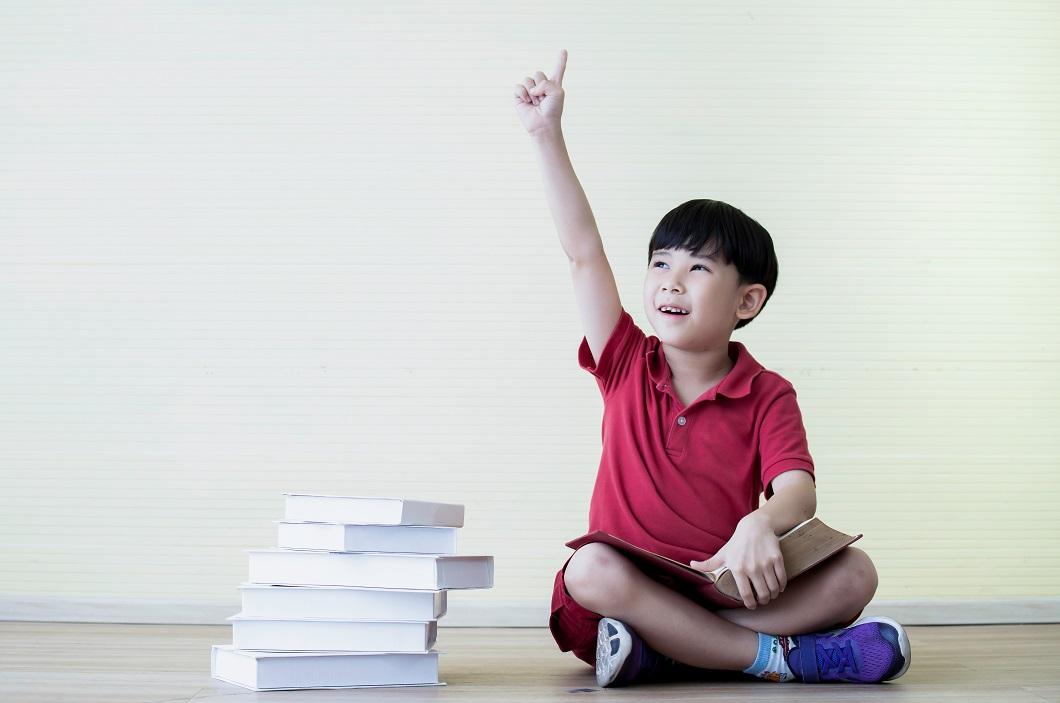 ビジョントレーニング子どもの写真