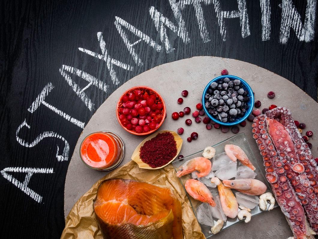 アスタキサンチン食材の写真
