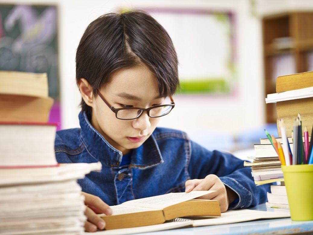 近視の子どもに関する研究の写真