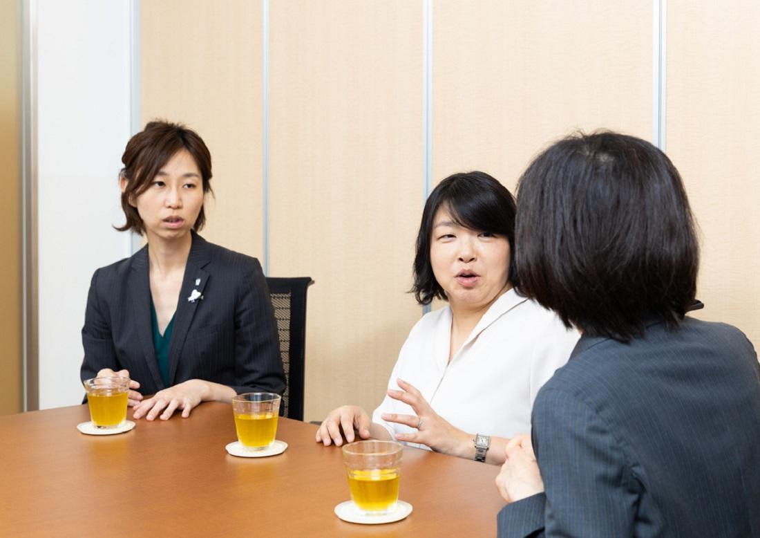 子どもの目座談会ママの写真