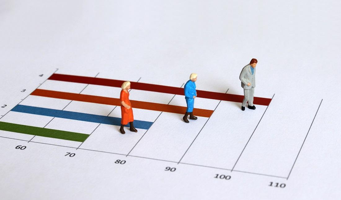 白内障手術健康寿命のグラフイメージの写真