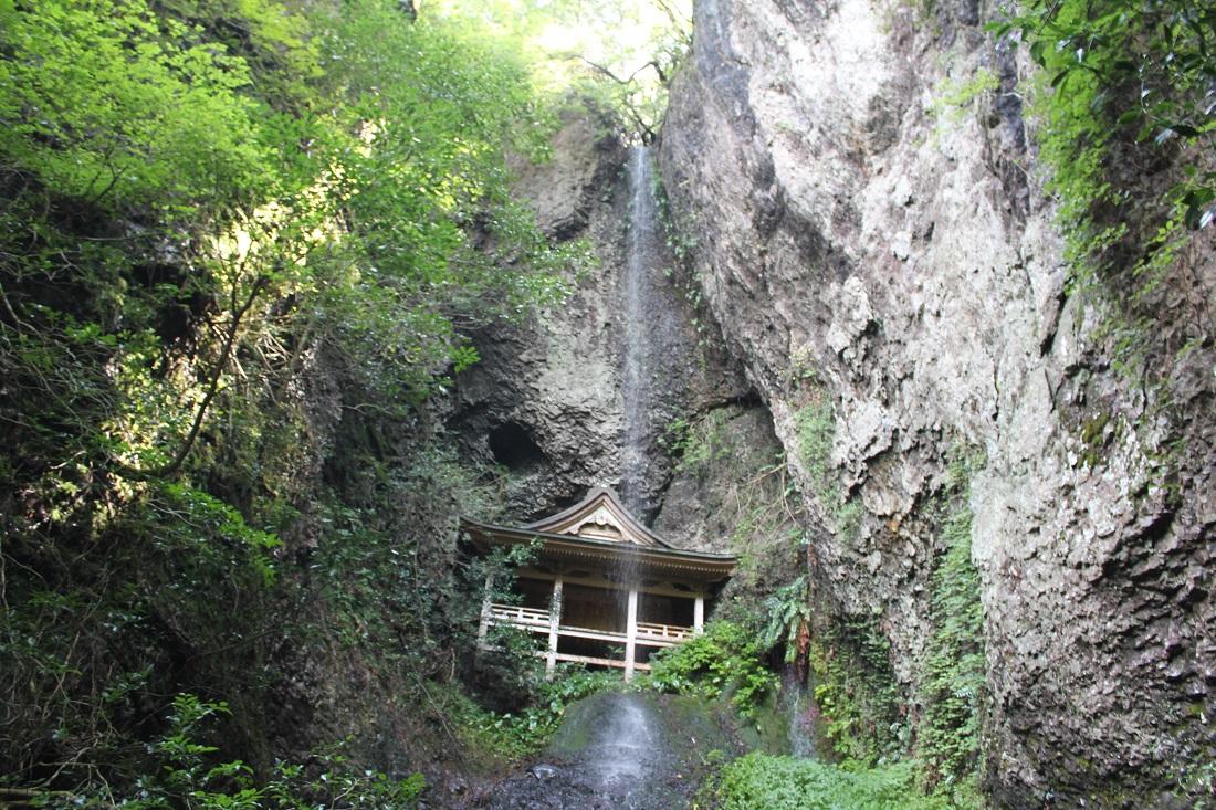 鰐淵寺滝の写真