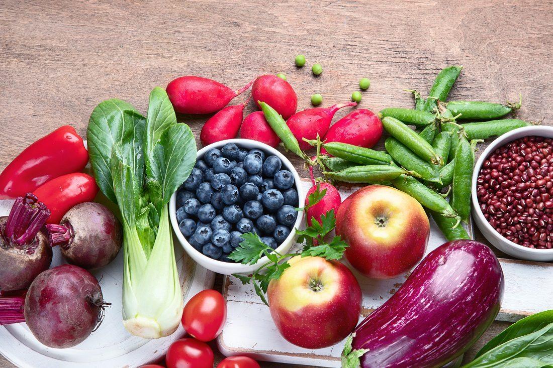 ポリフェノール野菜果実の写真
