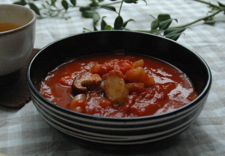 根菜のトマト煮