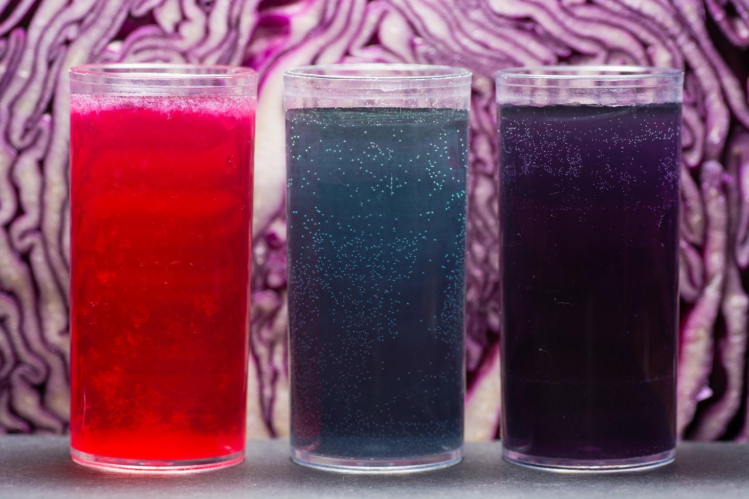 酸性とアルカリ性の色