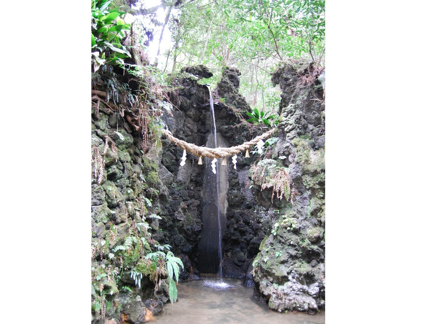 油山寺霊水の滝