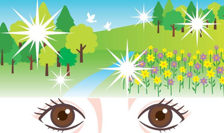 目の前にキラキラとしたものが飛ぶ?「光視症」の症状や原因とは